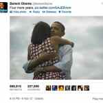 Obama 'Four More Years' Tweet is the Most Popular of All Time