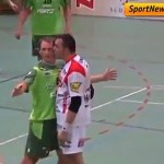 Italian Handball Player Drops Pants, Grabs Manhood After Provocative Kiss from Opponent: VIDEO