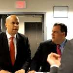 Gay Groups Hoping For Cory Booker Versus Chris Christie In 2013