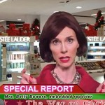 Christian Commander Mrs. Betty Bowers Reports from the Front Line of the 'War on Christmas': VIDEO