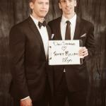 Wedding Portrait: Dan Savage and Terry Miller