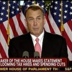 Boehner Gives 30-Second 'Fiscal Cliff' Press Conference, Runs: VIDEO
