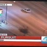 In-Your-Face Police Chase: VIDEO