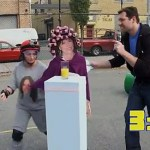 Rachel Dratch Runs a Julia Roberts Obstacle Course: VIDEO