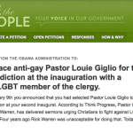 As Petition To Replace Anti-Gay Inauguration Pastor Gathers Steam, White House Stays Mum