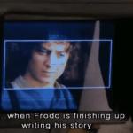 Elijah Wood's Last Day As Hobbit Frodo Baggins: VIDEO