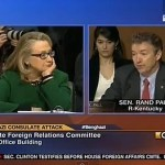 Rand Paul Tells Hillary Clinton He Would Have Fired Her: VIDEO