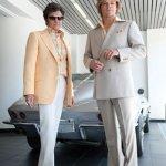 Michael Douglas as Liberace and Matt Damon as His Lover Scott Thorson: First Look