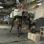 Terrifyingly Strong Big Dog Robot Hurls Cinder Blocks: VIDEO