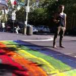 Do-It-Yourself Rainbow Crosswalks Popping Up All Over Sydney in Response to Shameful Crossing Removal