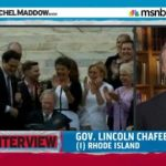 R.I. Governor Lincoln Chafee on His State and the Federal March to Marriage Equality: VIDEO