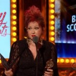 Cyndi Lauper Accepts 'Best Score' Tony Award, is First Woman to Win: VIDEO