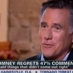 Mitt Romney: Hurricane Sandy Was Really Unfair to Me — VIDEO