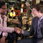 Tony Nominees Billy Porter and Stark Sands Perform 'Kinky Boots' on Location at a Shoe Maker: VIDEO
