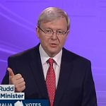 Australian PM Kevin Rudd Promises Marriage Equality in 100 Days if Elected: VIDEO