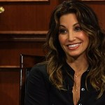 Larry King Asks Gina Gershon Why She's a 'Gay Icon', Playing Donatella Versace: VIDEO