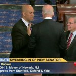 Cory Booker Sworn in to U.S. Senate: VIDEO