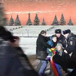 10 LGBT Activists Arrested in Sochi Protest in Moscow's Red Square: WATCH