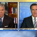 Mitt Romney on 'Meet the Press': It's 'Fine' if Gay Couples Want to Live Together, But Not Marry — VIDEO