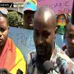 Gay Rights Activists In Kenya Protest Ugandan Anti-Homosexuality Bill: VIDEO