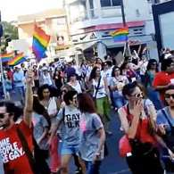 Thousands Join First Gay Pride Parade in Cyprus as Anti-gay Protestors Clash with Police