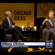 Hillary Clinton: The U.S. 'Must Be On the Front Lines' of LGBT Rights Around the World: VIDEO