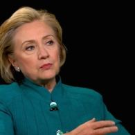 Hillary Clinton Reacts to Shooting Down of Malaysia Airliner in Charlie Rose Interview: VIDEO