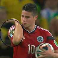 Colombian Footballer James Rodriguez Gets Bugged, Hugged: VIDEO