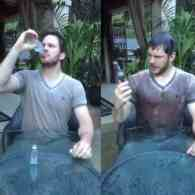Chris Pratt's Boozy Take on the Ice Bucket Challenge Is the Best Yet: VIDEO
