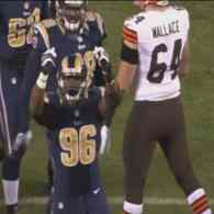 Michael Sam Sacks Johnny Manziel Twice in Preseason Match Against Cleveland Browns: WATCH