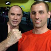 3 A.M. At The Gym Is Apparently a Great Time To Meet John Travolta: PHOTO