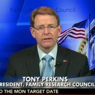 FRC Hate Leader Tony Perkins Attacks Hillary Clinton For Including Gay Families In Campaign Ad: LISTEN