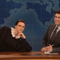 Ruth Bader Ginsburg Returns to Weekend Update to Fire Off Some 'Ginsburns' On Gay Marriage: VIDEO