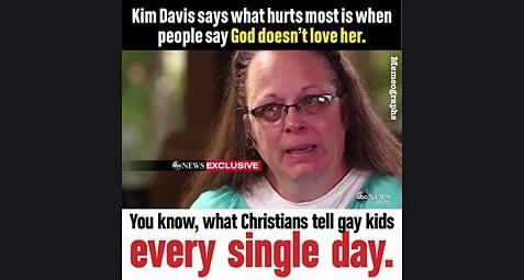 Kim Davis meme