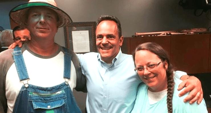 Matt Bevin Kim Davis Kentucky religious freedom