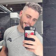 Gus Kenworthy Takes Another Gold, Then Goes Silver Fox for the Holidays