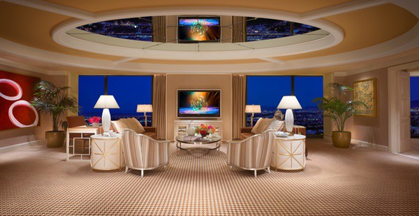 Encore Salon Suite Living Room, Wynn Las Vegas