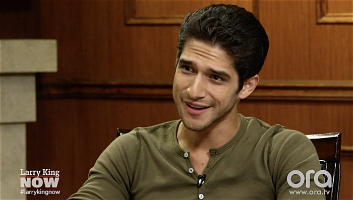 Tyler Posey reacts