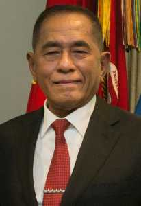 SD hosts honor cordon for Indonesian MoD