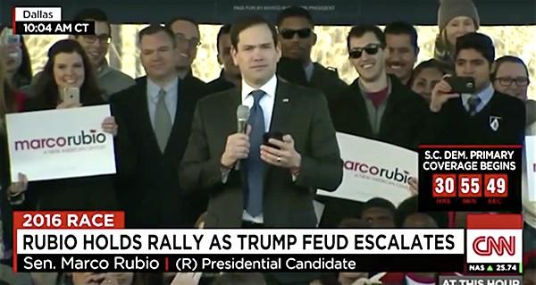 Marco Rubio choker