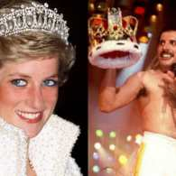 princess diana freddie mercury