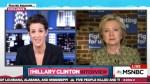 Rachel Maddow Hillary Clinton