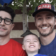 Matt Dallas and Blue Hamilton Share How They Built Their 'Dream Family' – VIDEO