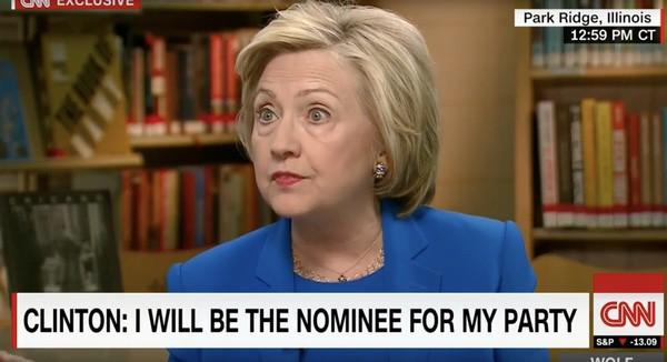 Bernie hillary Clinton