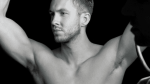 calvin harris shirtless