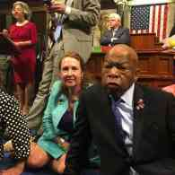Rep. John Lewis Leads Sit-In on House Floor Demanding Gun Control Vote: WATCH
