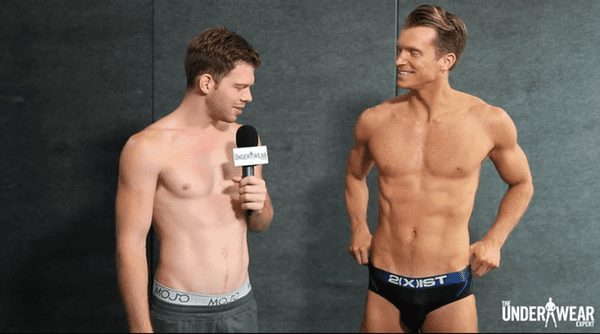 Boxers Or Briefs Shirtless Fitness Instructors Drop Trou