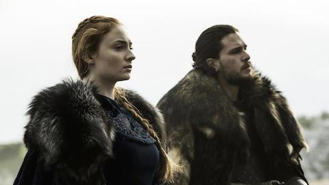 Game of Thrones Sansa and Jon Snow