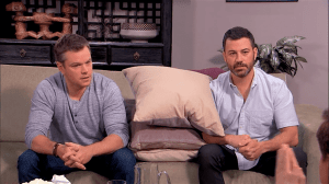 matt damon jimmy kimmel