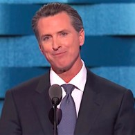 At DNC, Gavin Newsom Rips Mike Pence for Supporting Torture of Gay Kids: WATCH